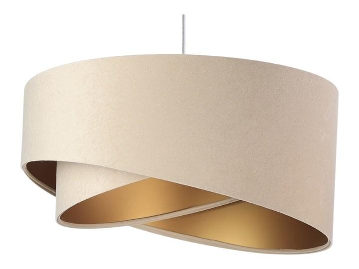 Żyrandol na lince GALAXY 1xE27/60W/230V Metal Kolor Beżowy Lampa z abażurem Tworzywo sztuczne Kategoria Lampy wiszące
