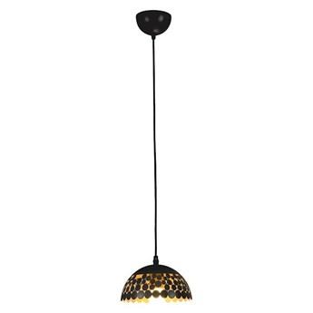 Żyrandol na lince LISA BLACK 1xE27/60W/230V