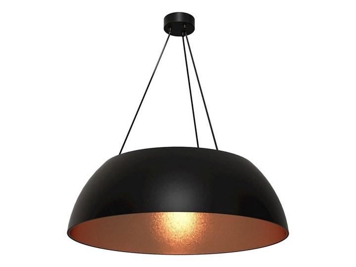 Żyrandol na lince MORGAN 3xE27/60W/230V Lampa z kloszem Metal Tworzywo sztuczne Kolor Czarny