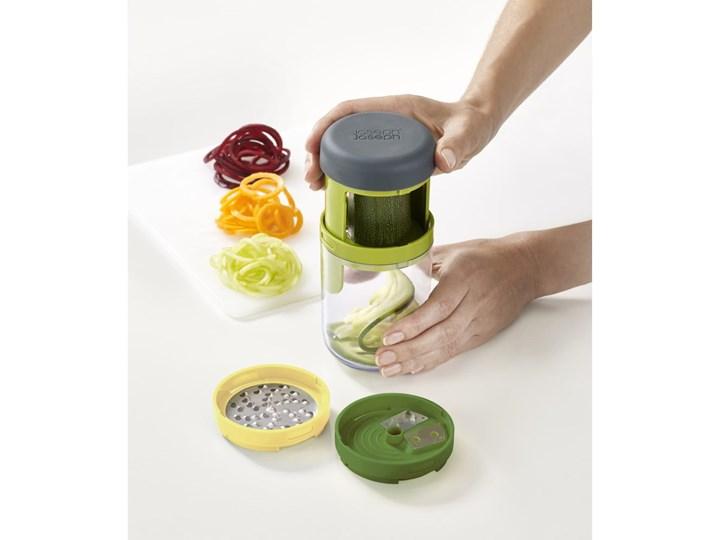 Spiralizer do warzyw Joseph Joseph Spiro Zestaw do przypraw Kolor Zielony Stal nierdzewna Tworzywo sztuczne Kategoria Przyprawniki