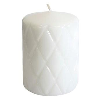 Świeca pieńkowa Pik biała wys. 10 cm