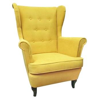 Fotel uszak Żółty WYPRZEDAŻ MAGAZYNOWA