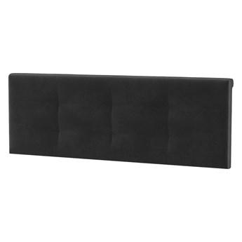 Zagłówek tapicerowany do łóżka 180 VERA VE86 czarny