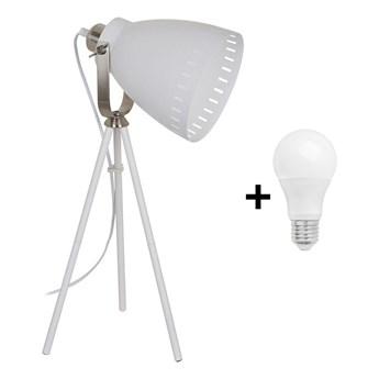 Solight WA002-W - LED Lampa stołowa MILANO 1xE27/10W/230V biały 52cm