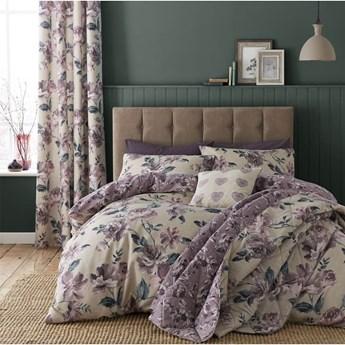 Pikowana narzuta na łóżko Catherine Lansfield Painted Floral, 220x230 cm