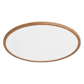 Plafon LED Yonnet 4000 K 43 cm drewno