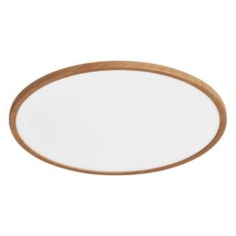 Plafon LED Yonnet 4000 K 60 cm drewno