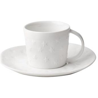 Filiżanka porcelanowa z podstawką Stars 0,75 ml RAEDER