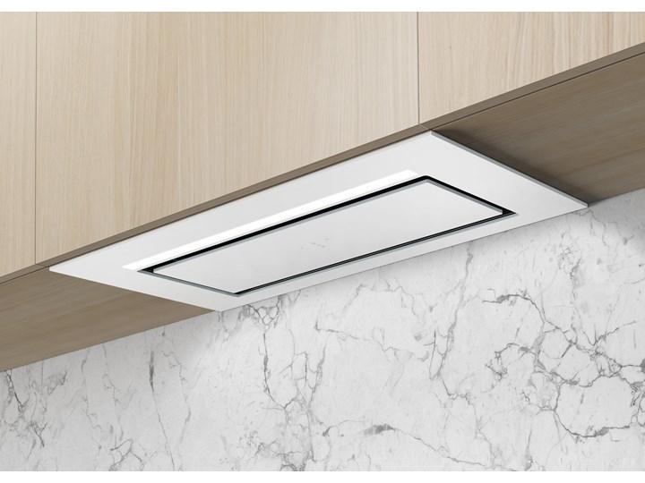 Aura Biały Pochłaniacz z filtrem węglowym 74cm Kategoria Okapy