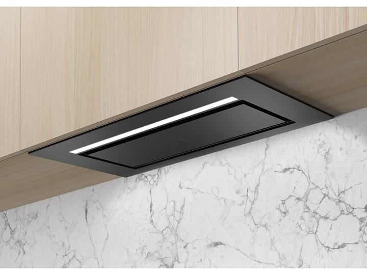 Aura Czarny Pochłaniacz z filtrem węglowym 74cm