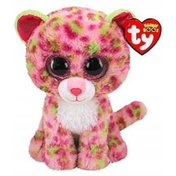 Maskotka TY INC Beanie Boos Lainey - Różowy leopard 15 cm