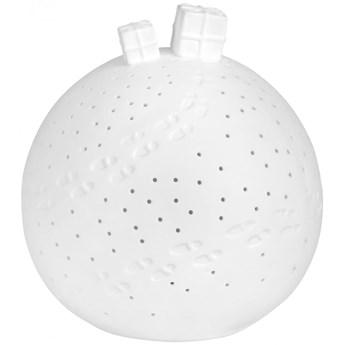 Kula porcelanowa 13 cm Led - Prezenty RAEDER