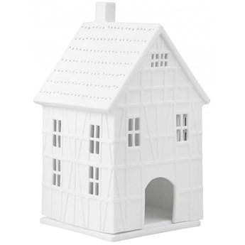 Lampion porcelanowy domek 19cm - pruski domek duży RAEDER