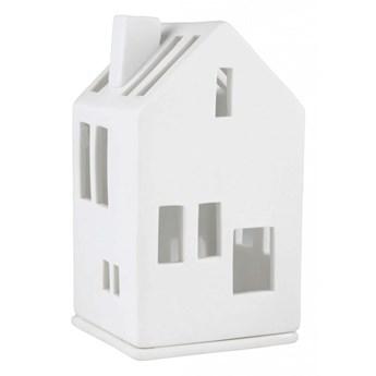 Lampion porcelanowy domek 11cm - budynek mieszkalny RAEDER