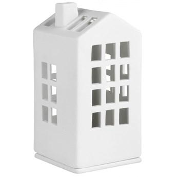 Lampion porcelanowy domek 12cm - ratusz RAEDER
