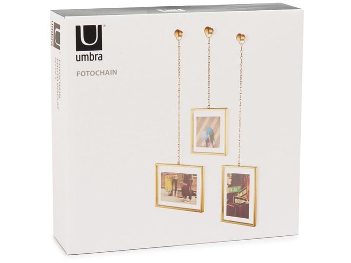 Ramka na zdjęcia Fotochain 40x14 cm złota (3-Set) Kolor Złoty Kategoria Ramy i ramki na zdjęcia