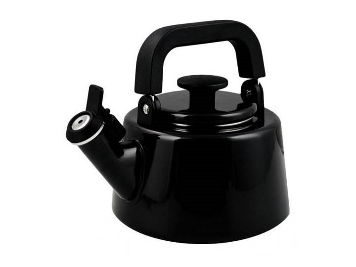Czajnik emaliowany Forchetto Moderno Nero 2,1l czarny Ze stali nierdzewnej Ze stali emaliowanej Indukcja
