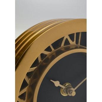 Zegar Luxembourg 14x14 cm złoty