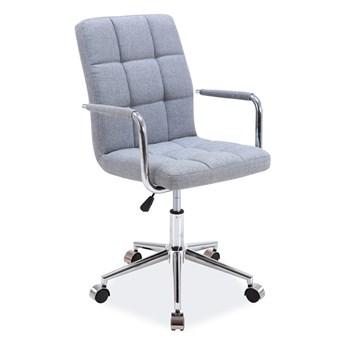 Fotel Q-022 Szary Tkanina do dywanów