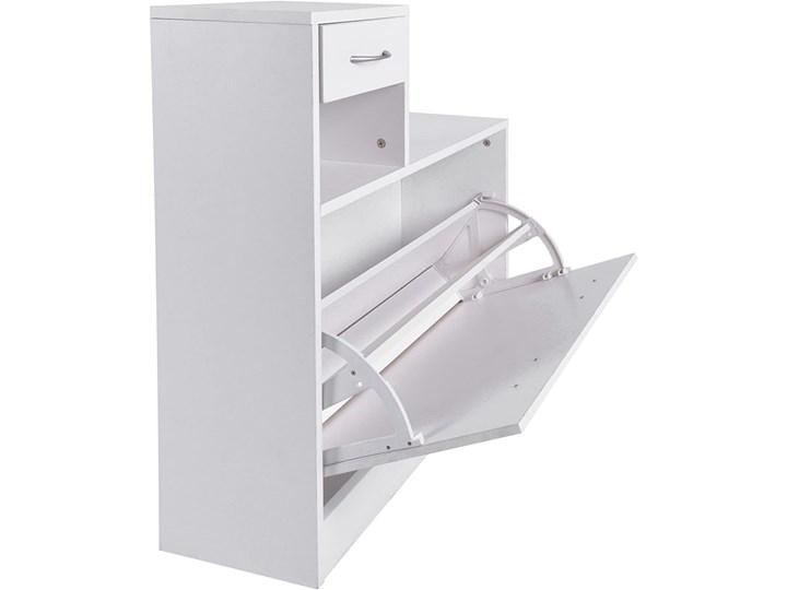 Zestaw do przedpokoju Eliza - szafka na buty + wieszak z lustrem biały Kategoria Zestawy mebli do sypialni