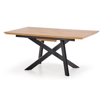 Stół rozkładany CAPITAL dąb złoty / czarny