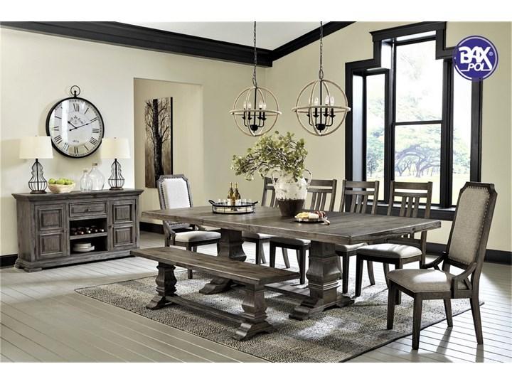 Amerykańska jadalnia D813 zestaw -stół+krzesła+ławka +komoda