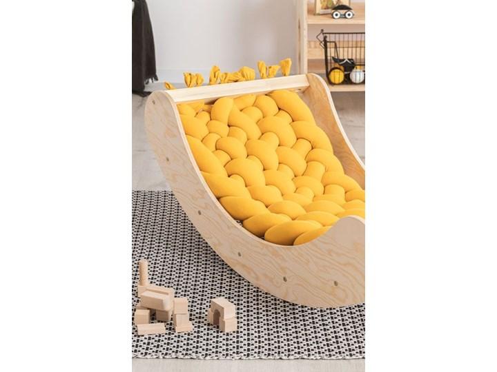 Żółta drewniana kołyska dziecięca - Tulis Kołyski Drewno Kategoria