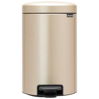 Kosz na śmieci do kuchni pedałowy 12L NewIcon szampański 304446 kod: 304446