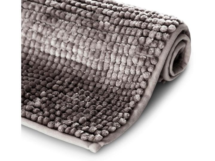 Antypoślizgowy dywanik łazienkowy miękki Brązowy BATI - 50x70 cm