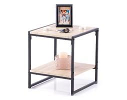 Stolik kawowy do salonu Industrialny Loft Klon Brązowy COXE