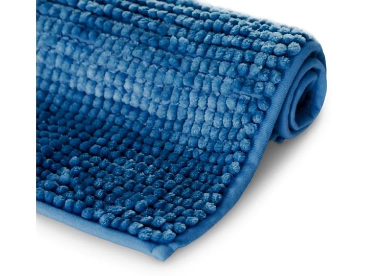 Antypoślizgowy dywanik łazienkowy miękki Ciemnoniebieski BATI - 70x120 cm
