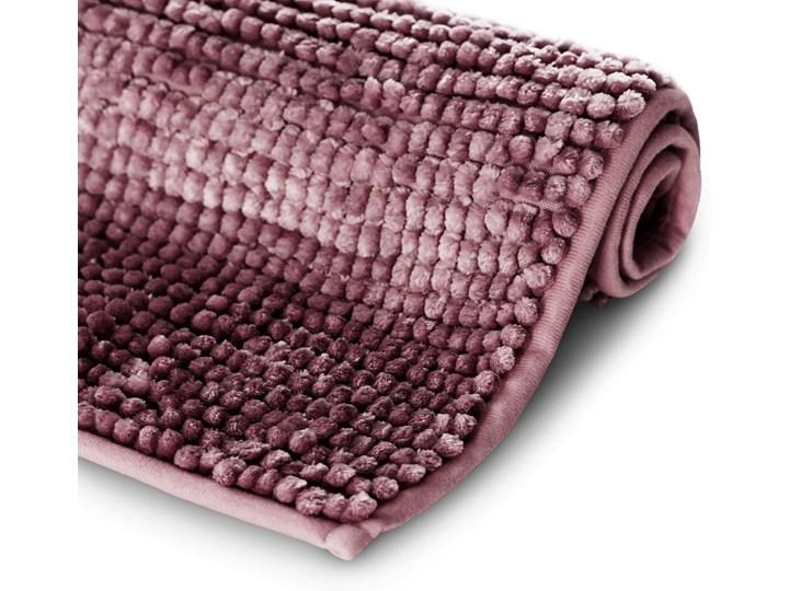 Antypoślizgowy dywanik łazienkowy miękki Fioletowy BATI - 50x70 cm