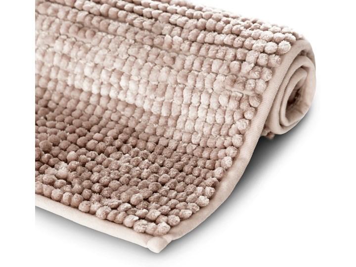 Antypoślizgowy dywanik łazienkowy miękki Pudrowy Róż BATI - 60x90 cm