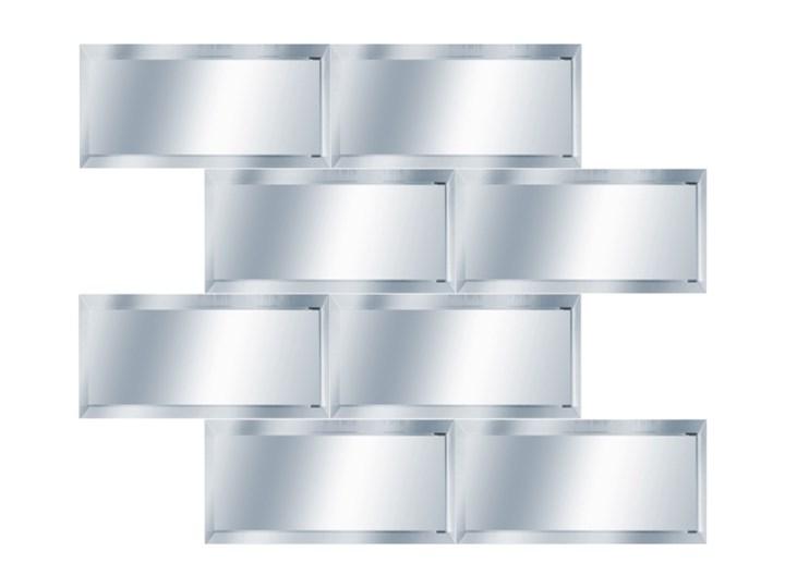 Mozaika Metro 29,8 x 29,8 cm mirror silver Nieregularny Powierzchnia Lustrzana Płytki ścienne 29,8x29,8 cm Płytka ceglana Płytki łazienkowe Kolor Srebrny