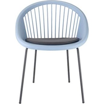 Siedzisko do krzesła Saint Tropez antracytowe