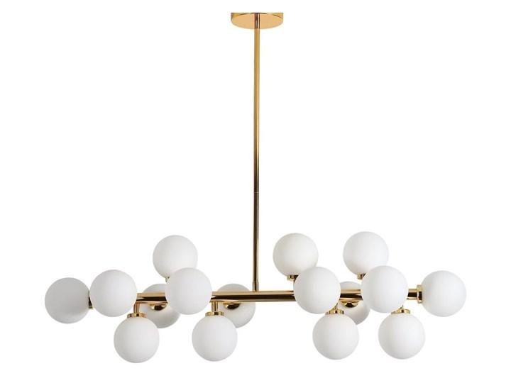 Lampa wisząca Petrica Złoto Kategoria Lampy wiszące Lampa z kloszem Metal Lampa z abażurem Stal Szkło Kolor Złoty