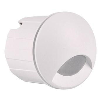 Oświetlenie schodowe LED Polux Q1 20 lm 3 W 4000 K IP44 podtynkowe okrągłe białe