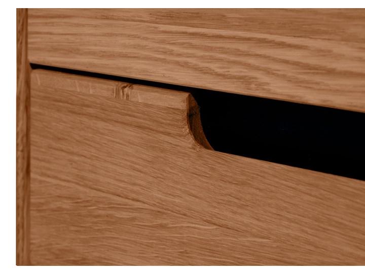 Kredens dębowy Faro Soolido Meble Drewno Pomieszczenie Jadalnia
