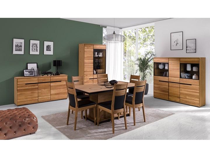 Kredens dębowy Faro Soolido Meble Pomieszczenie Jadalnia Drewno Kategoria Kredensy