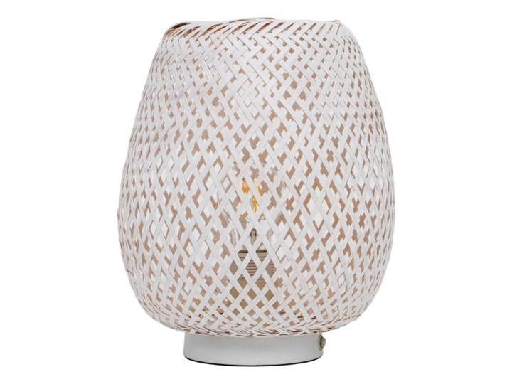 Lampa stołowa GoodHome Kasungu 1-punktowa E27 biała Kategoria Lampy stołowe Wysokość 32 cm Lampa z kloszem Wysokość 30 cm Kolor Biały