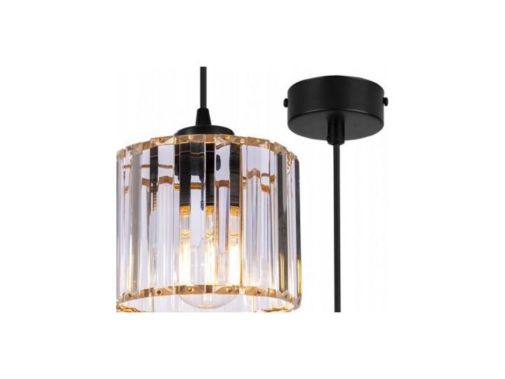 Regulowana Lampa Wisząca ze Szklanym Kloszem Szkło Metal Lampa z kloszem Funkcje Brak dodatkowych funkcji