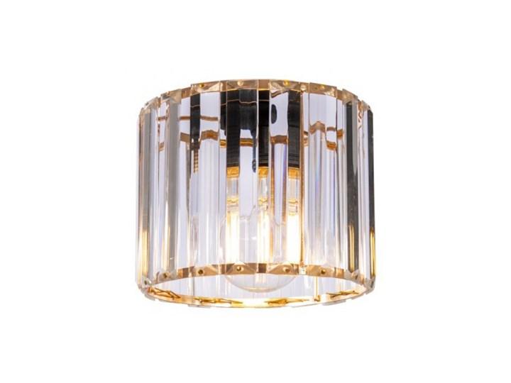 Regulowana Lampa Wisząca ze Szklanym Kloszem Metal Szkło Kolor Szary Lampa z kloszem Funkcje Brak dodatkowych funkcji