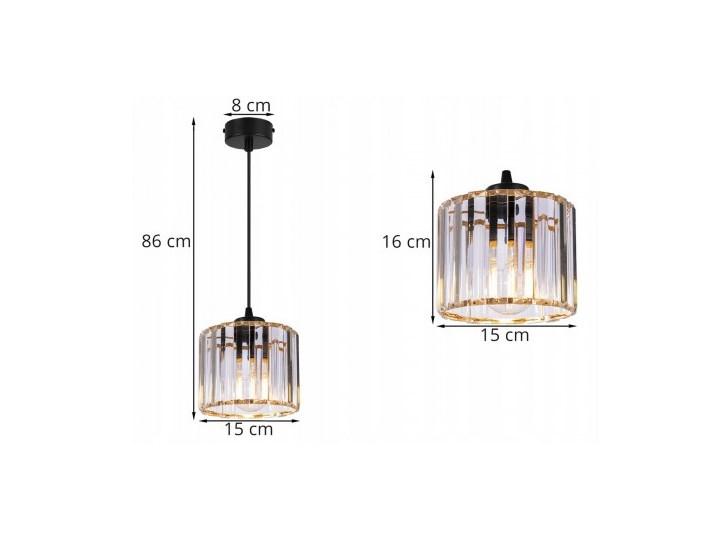 Regulowana Lampa Wisząca ze Szklanym Kloszem Lampa z kloszem Szkło Metal Styl Nowoczesny Funkcje Brak dodatkowych funkcji