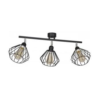 Lampa Sufitowa z Drutu Loft
