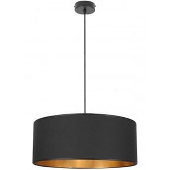 Nowoczesna Lampa Wisząca Złoty Środek Abażur 50 cm