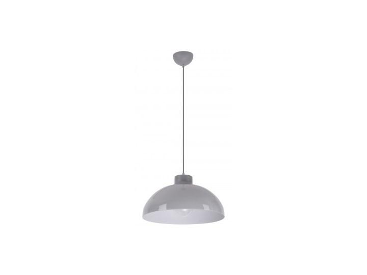 Klasyczna Lampa Wisząca Do Kuchni Lampa z kloszem Lampa LED Tworzywo sztuczne Kolor Szary