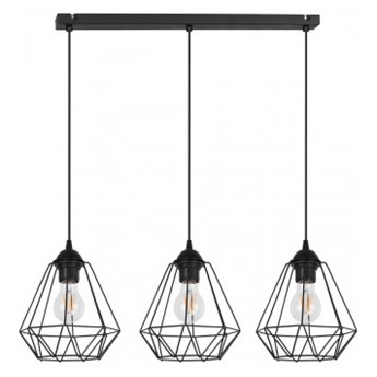 Lampa Wisząca Żyrandol Loft Metalowe Klosze