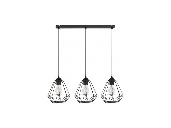 Lampa Wisząca Żyrandol Loft Metalowe Klosze Lampa z kloszem Lampa LED Ilość źródeł światła 3 źródła