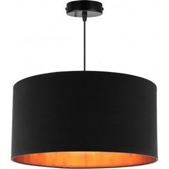 Lampa Wisząca z Abażurem Złoty Środek LED