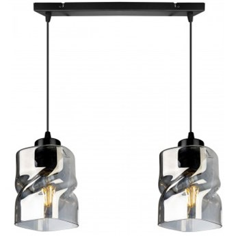 Nowoczesna Lampa Wisząca ze Szklanymi Kloszami LED